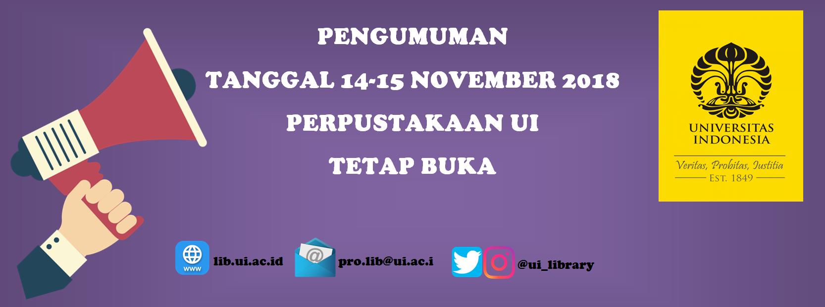 OPAC - Universitas Indonesia Library